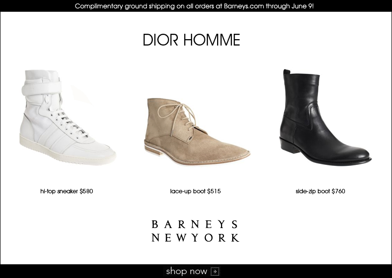 New Arrival - Dior Homme Shoes @ Barneys.com