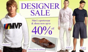 40% Off Sale @ Eluxury.com