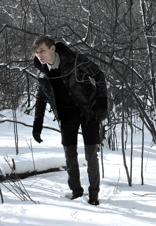Stas Svetlichnyy for Robert Geller Fall 2008 Preview