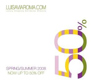 Luisaviaroma.com Spring Summer Sale Begins