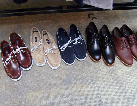 A.P.C. Shoes Spring 2009