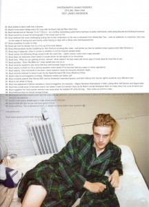 """Boyd Holbrook in August i-D """"Everything Starts with a B"""""""