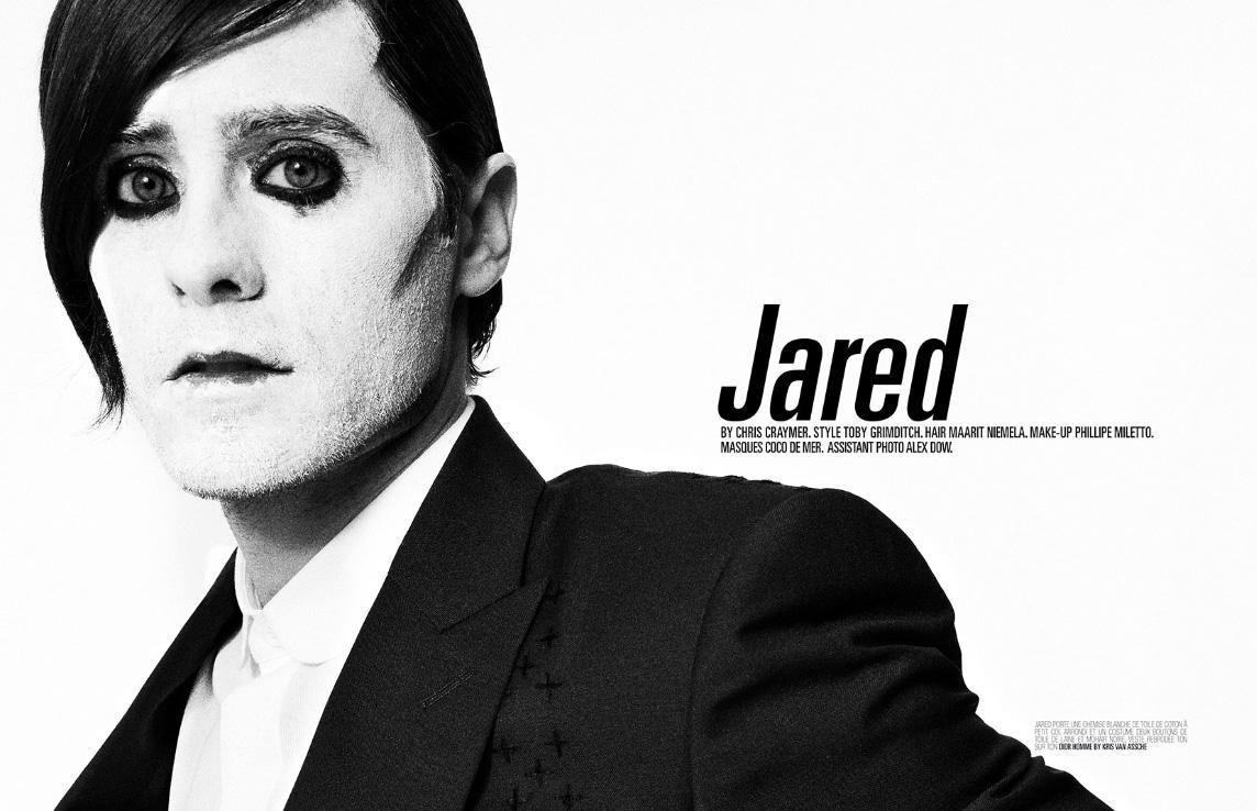 Jared Leto Crashes
