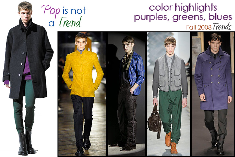 Fall 2008 Trends: Pop is not a Trend