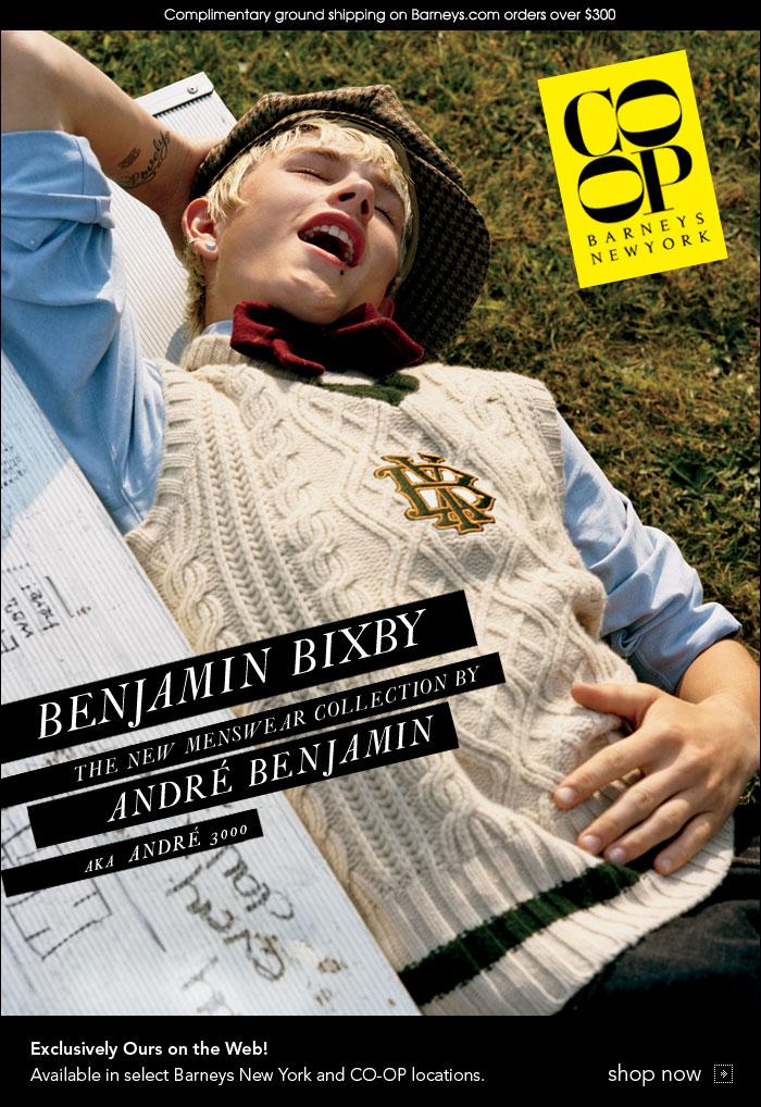 Benjamin Bixby Barneys The Fashionisto