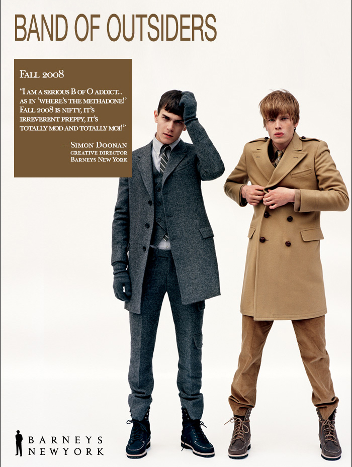 New Arrivals @ Barneys - Band of Outsiders