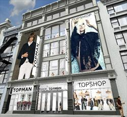 NY TOPSHOP/TOPMAN OPENING DELAYED