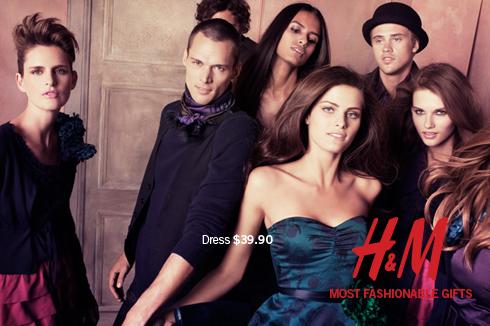 Sales at H&M/Tobi