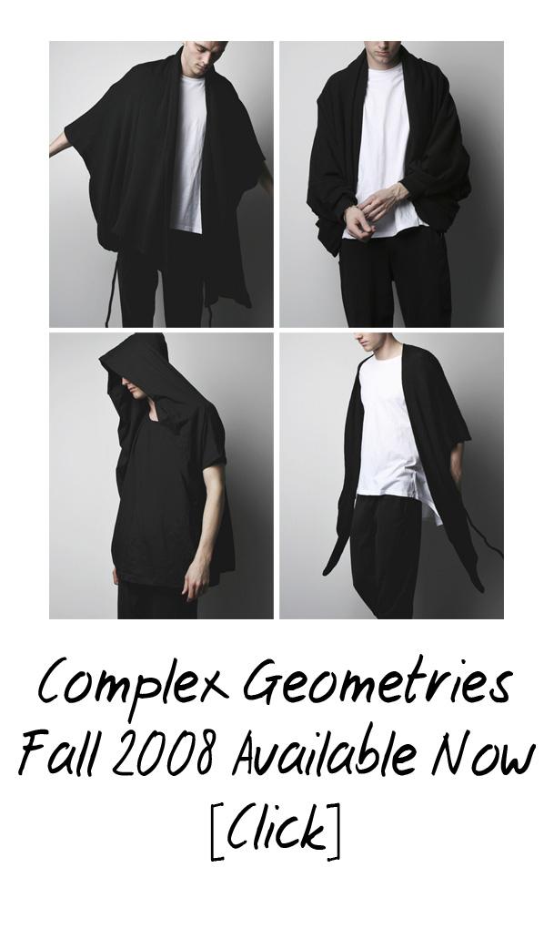 New Arrivals - Complex Geometries Fall 2008