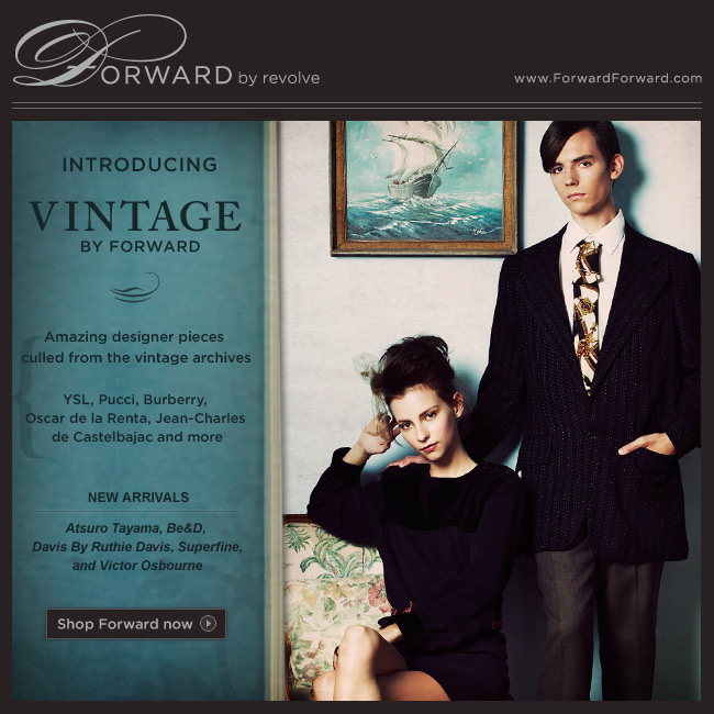 Introducing Vintage By Forward