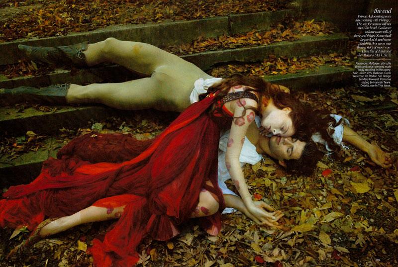 Vogue Recreates Romeo & Juliet