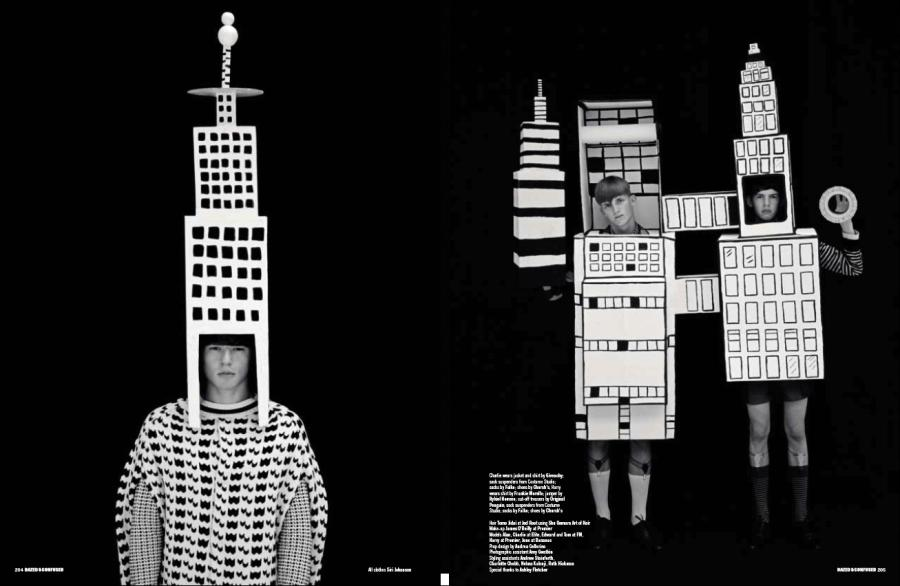 Dazed & Confused   Building Blocks by Ben Toms
