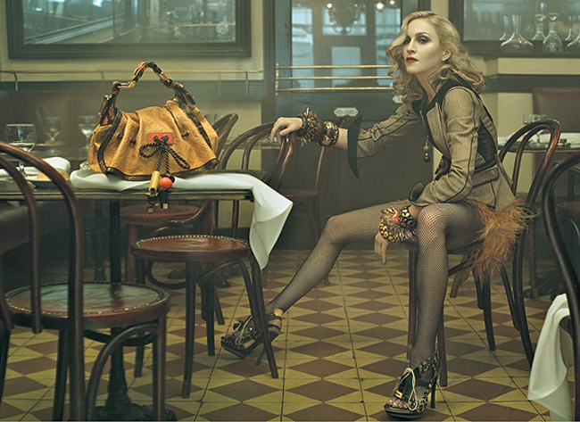 Madge Poses For Louis Vuitton