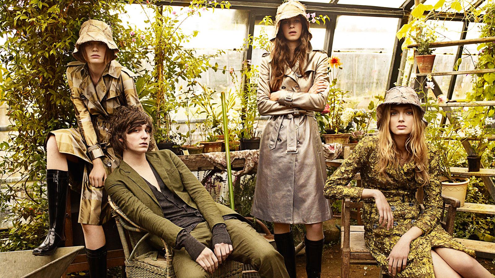Campaign - Burberry Spring 2009