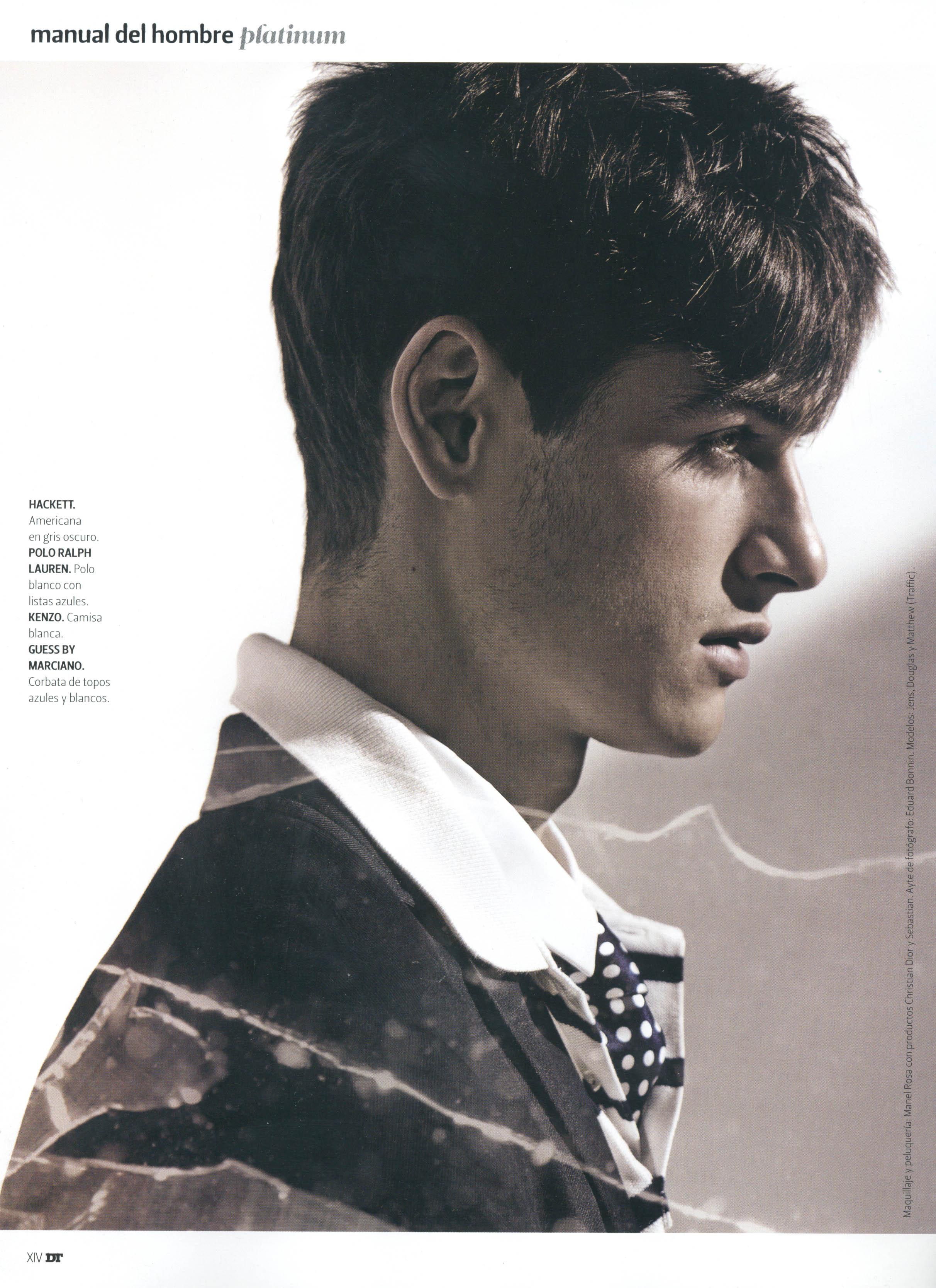 Fashionisto Inbox - Matthew Coatsworth In DT Magazine (Spain)