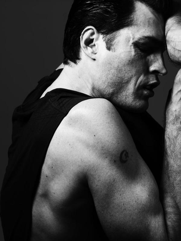 Supermodels by Hedi Slimane for Vogue Hommes International
