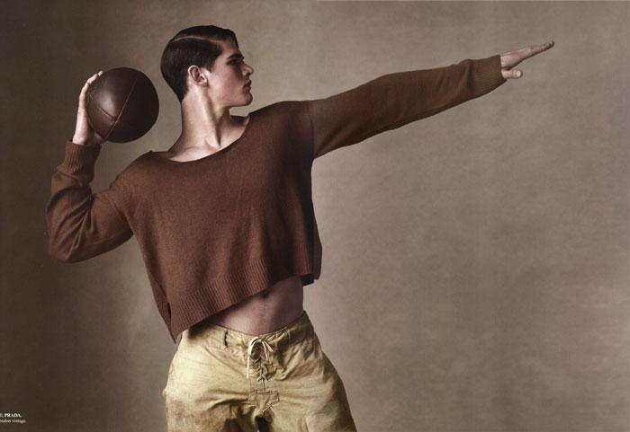 Richard Phibbs Shoots For Sport & Style