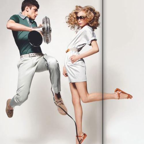 Sean O'pry for Lacoste Spring 2009
