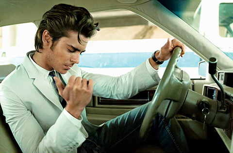 May 2009 GQ - Cover Boy Zac Efron