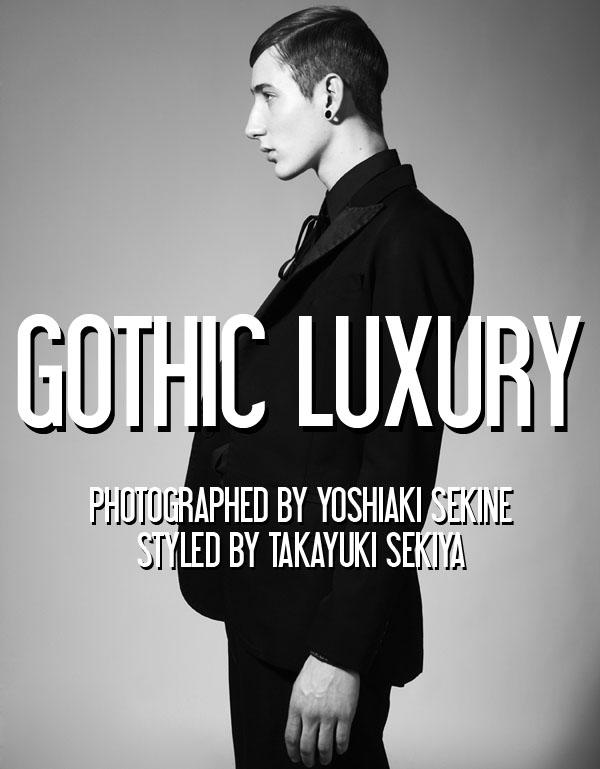 "Editorial - ""Gothic Luxury"""