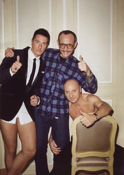 Terry + Dolce & Gabbana