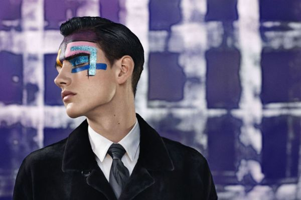 "Editorial - ""Louis Vuitton: New-Way Suiting"""