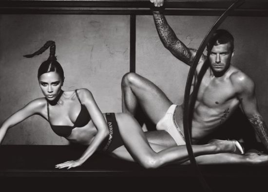 Campaign - Armani & The Beckhams