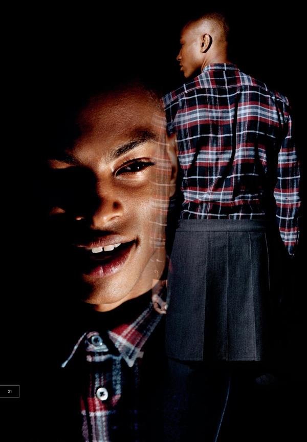 Barneys Fall 2009 Mailer Ft. AJ, Lyle, Simon...