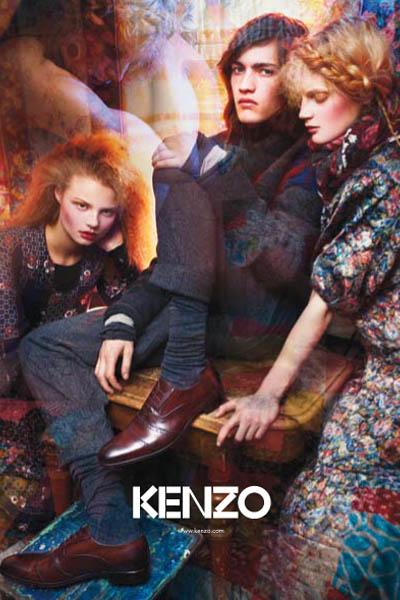 04d0f723bb1 Campaign – Kenzo Fall 2009 | The Fashionisto