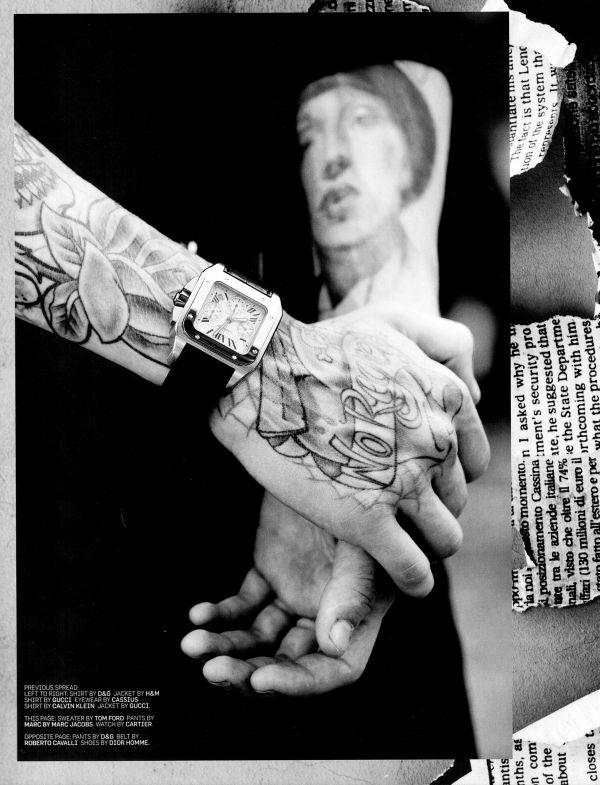 "Editorial | ""Tattooed Love Boys"""