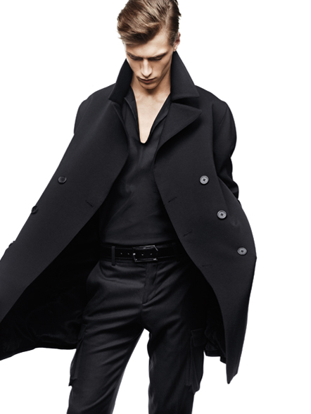 Clément Chabernaud by Nathaniel Goldberg for Time Homme Fall 2009 Campaign