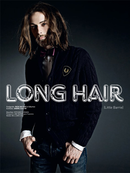 Editorial | Long Hair with Will Lewis