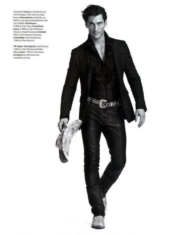 DV Man | David Gandy by Tobias Lundkvist