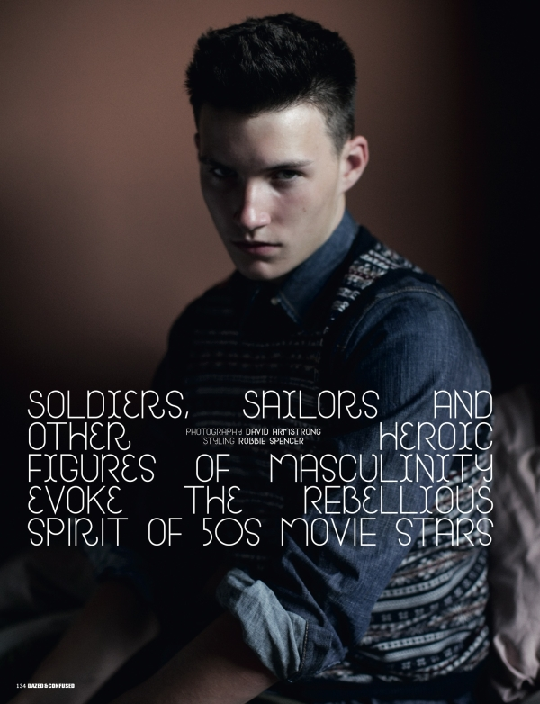 Dazed & Confused November 2009 | Soldiers, Sailors & Other Heroic Figures...