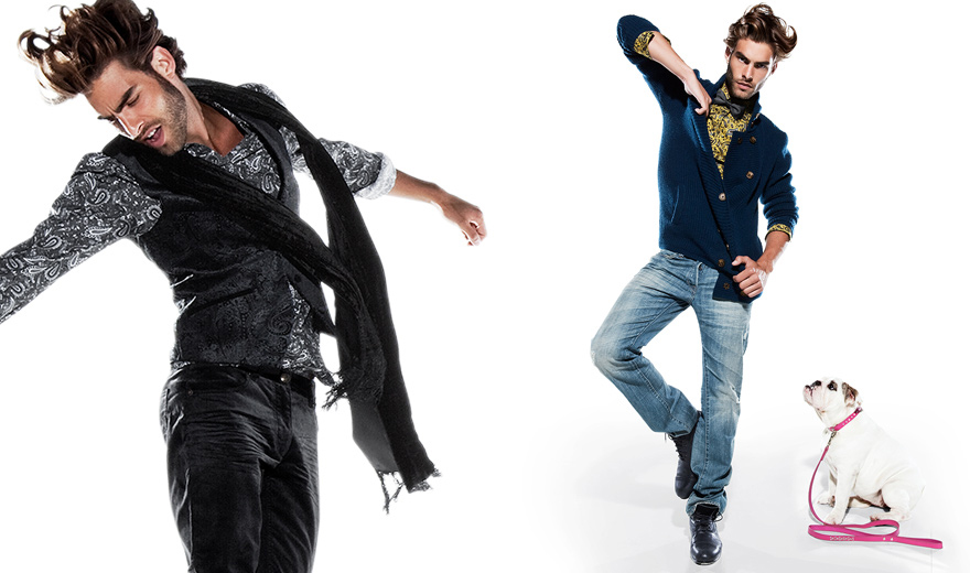 H&M Holiday 2009 | Sean O'Pry & Jon Kortajarena