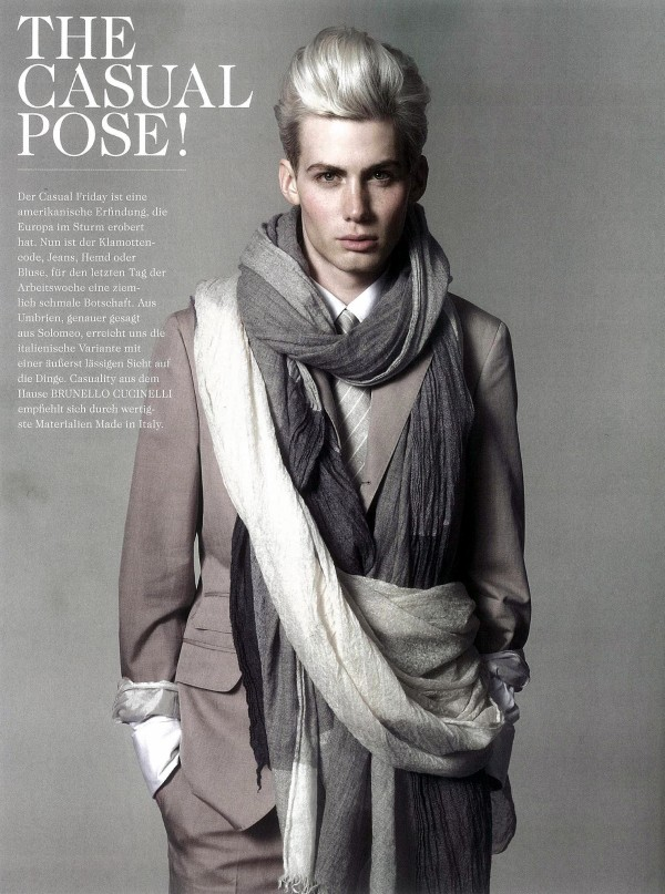 Tush | The Casual Pose! by Armin Morbach | The Fashionisto