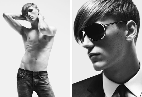 Extrêmement Model of the Month | Bastiaan & Dior Homme ZY62