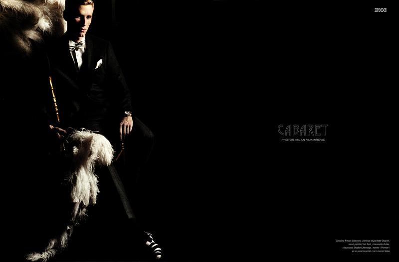 Cabaret | Bastiaan Ninaber by Milan Vukmirovic