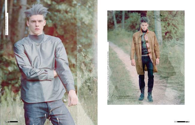 Feld Hommes | Die Zweite Haut--Niels Raabe & Dan Cameron by Thomas Lohr