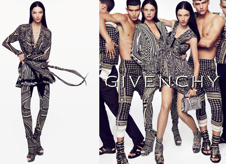 Spring 2010 Campaign | Givenchy by Mert & Marcus Featuring Simon Nessman
