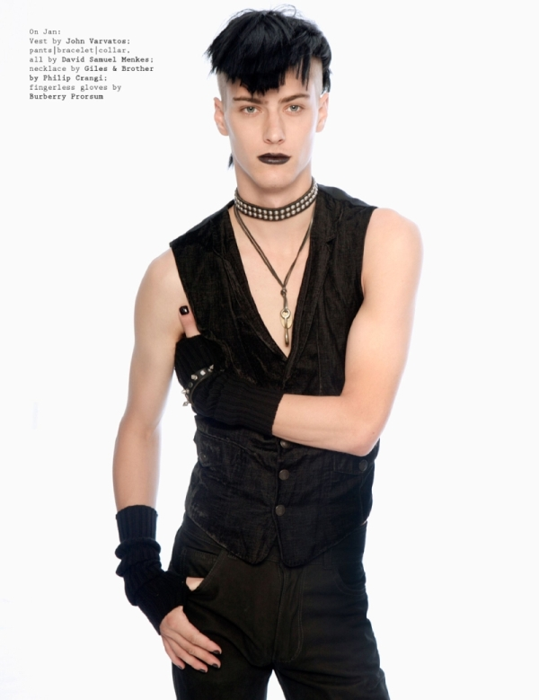 Visual Tales   In Black Leather by Bell Soto