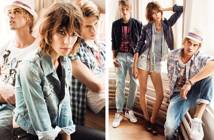 Spring 2010 Campaign Preview   Boyd Holbrook & Tom Guinness for Pepe Jeans