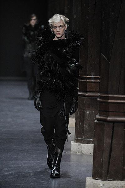 Paris Fashion Week | Ann Demeulemeester Fall 2010