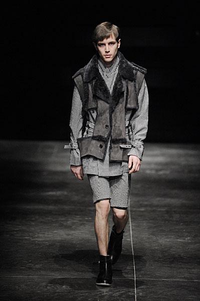 Paris Fashion Week   Blaak Homme Fall 2010