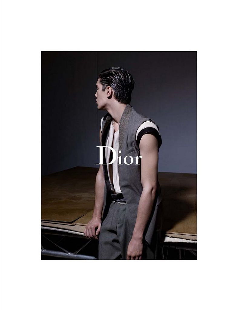 Dior Homme Spring/Summer 2010 Campaign   Juan Manuel Arancibia by Karl Lagerfeld