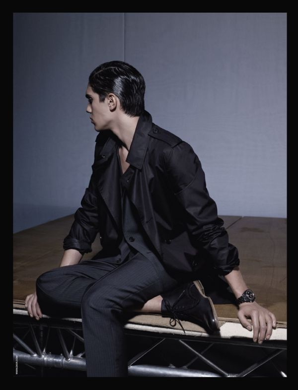 Dior Homme Spring 2010 Campaign | Juan Manuel Arancibia by Karl Lagerfeld