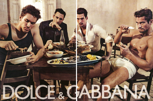 Campaign Preview | Adam Senn, Noah Mills, Sam Webb & David Gandy for Dolce & Gabbana