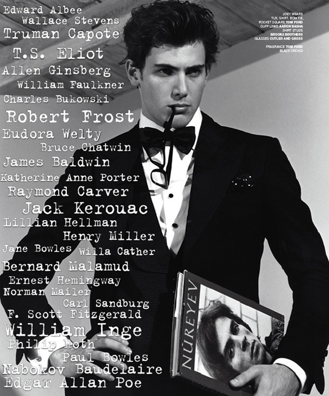 VMAN | How to Read by Bruce Weber
