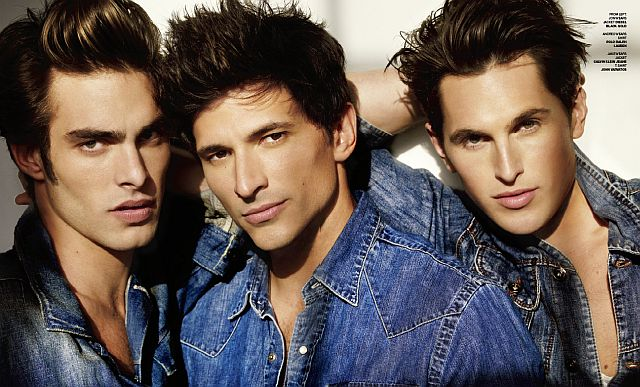 VMAN #17   Jon Kortajarena, Andres Segura & Jake Davies by Mario Testino