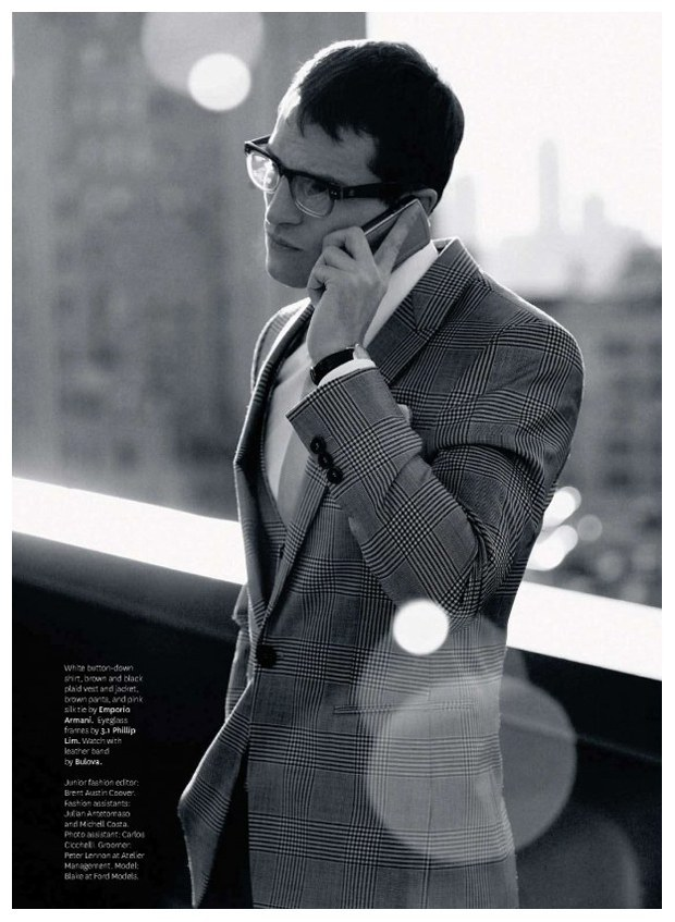 Out Magazine March 2010 | 9 to 5 by Daniel Riera